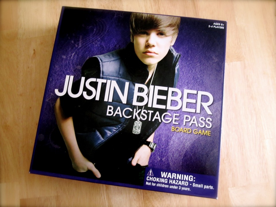 Justin Bieber Backstage Pass