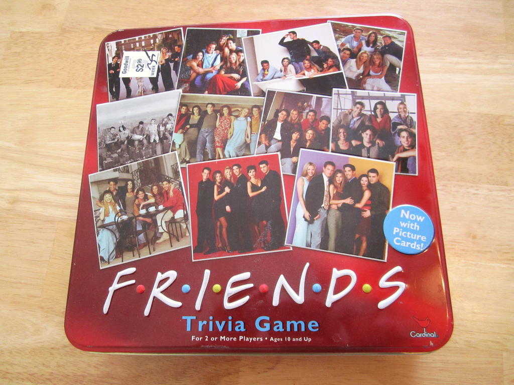 Friends Trivia Game
