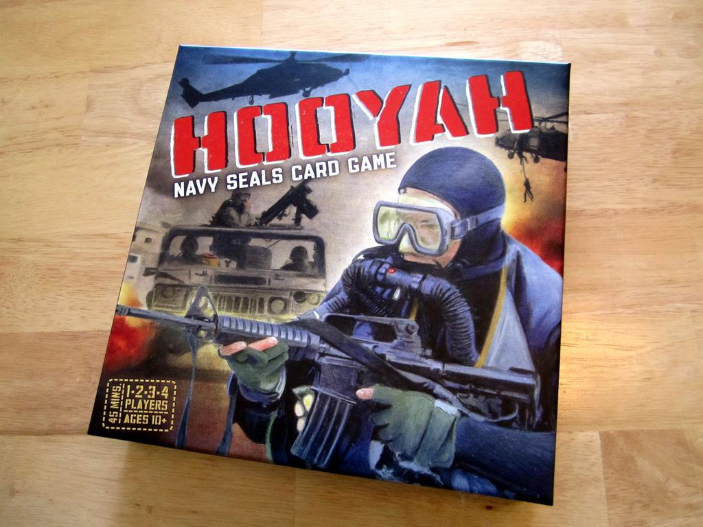 Hooyah: Navy Seals Card Game