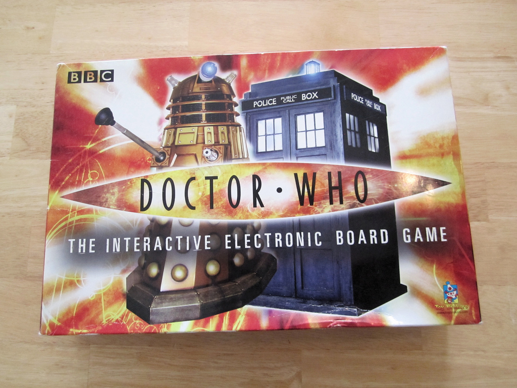 Doctor Who: The Interactive Electronic Board Game