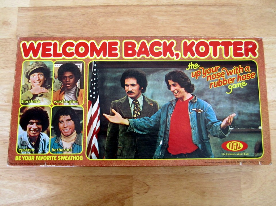 Welcome Back Kotter: The Up Your Nose with a Rubber Hose Game