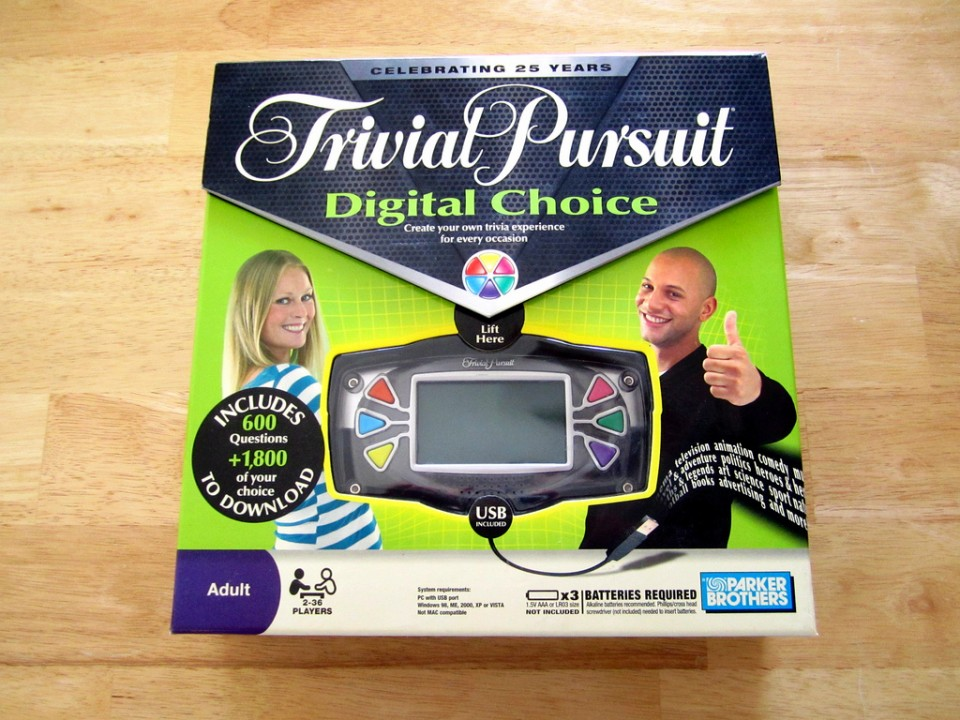 Trivial Pursuit Digital Choice