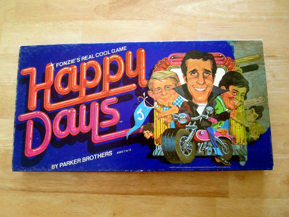 Happy Days Fonzie's Real Cool Game
