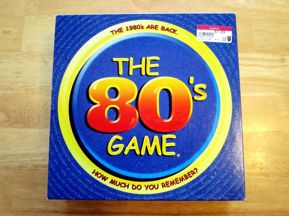 The 80's Game