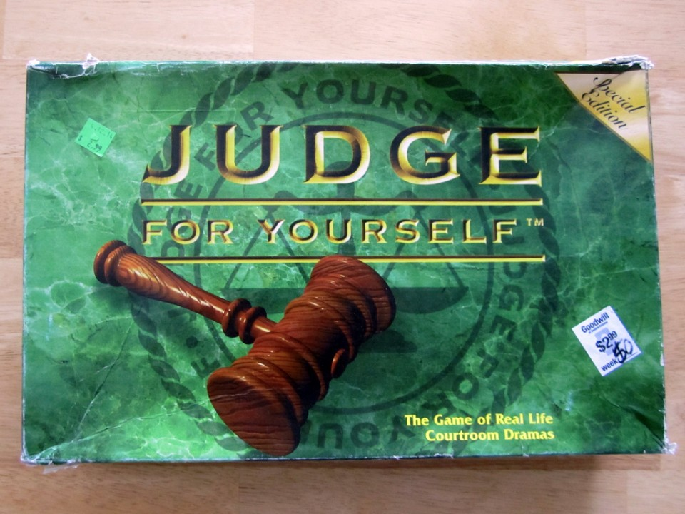 Judge For Yourself