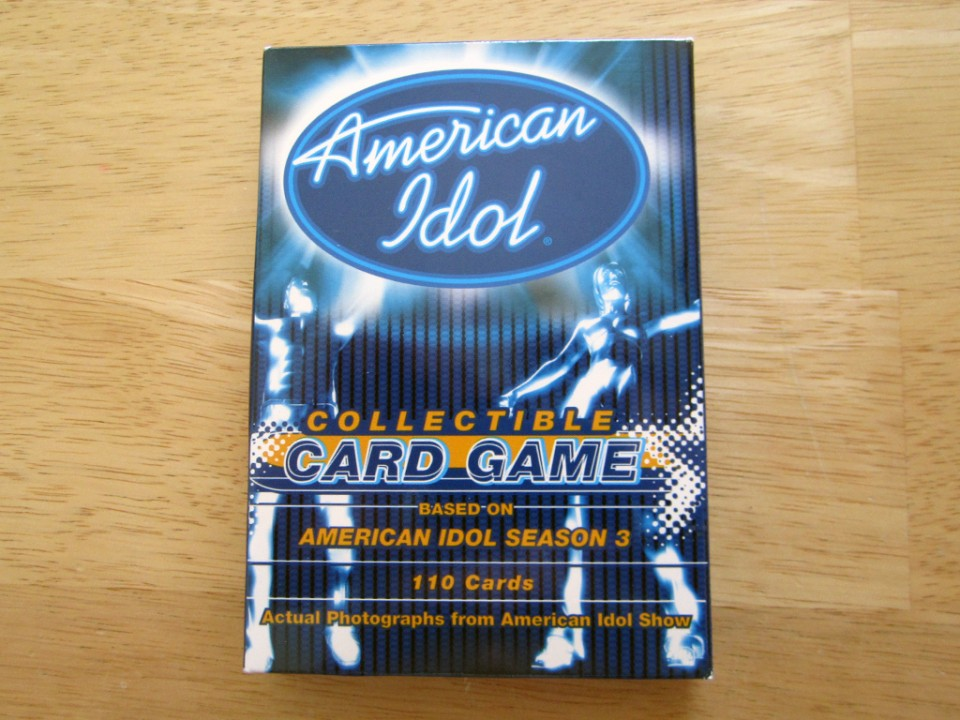 American Idol Collectible Card Game