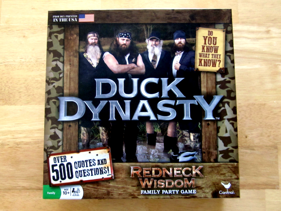Duck Dynasty Redneck Wisdom Family Party Game