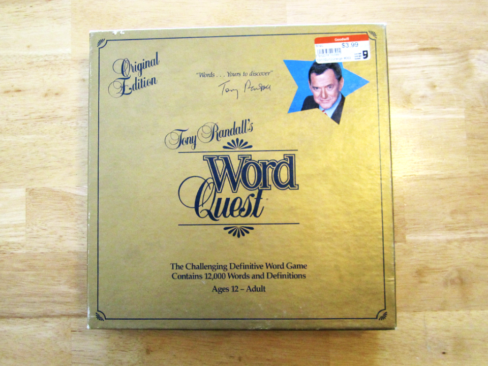 Tony Randall's Word Quest