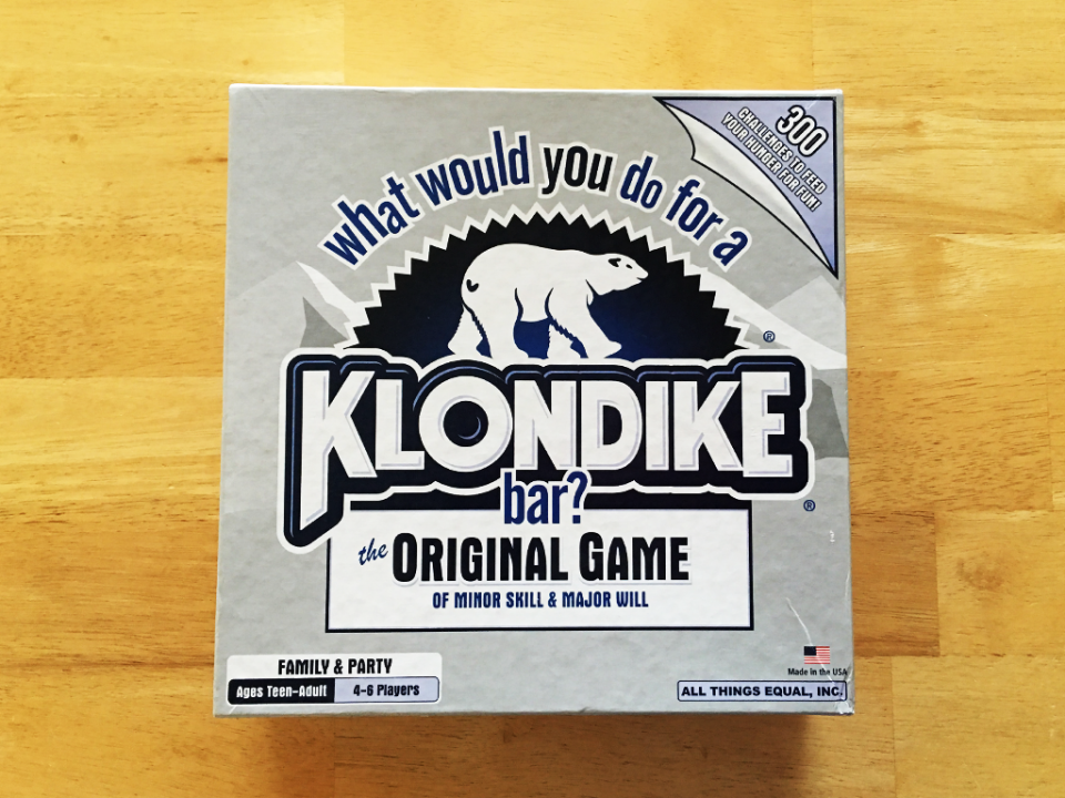What Would You Do For A Klondike Bar? The Original Game